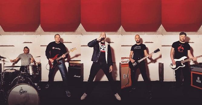 Band-Foto. Enraged Minority - April 2021
